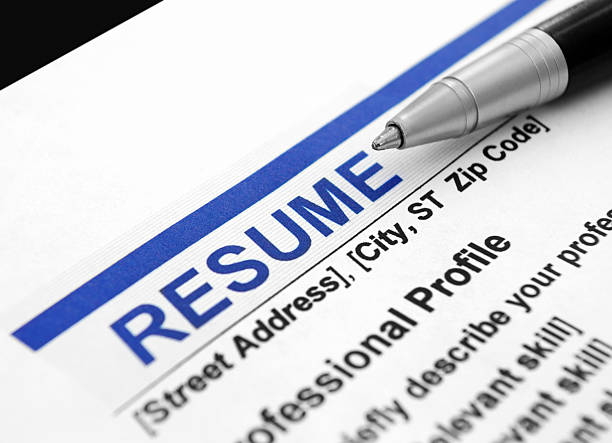 resume pictures images and stock photos istock