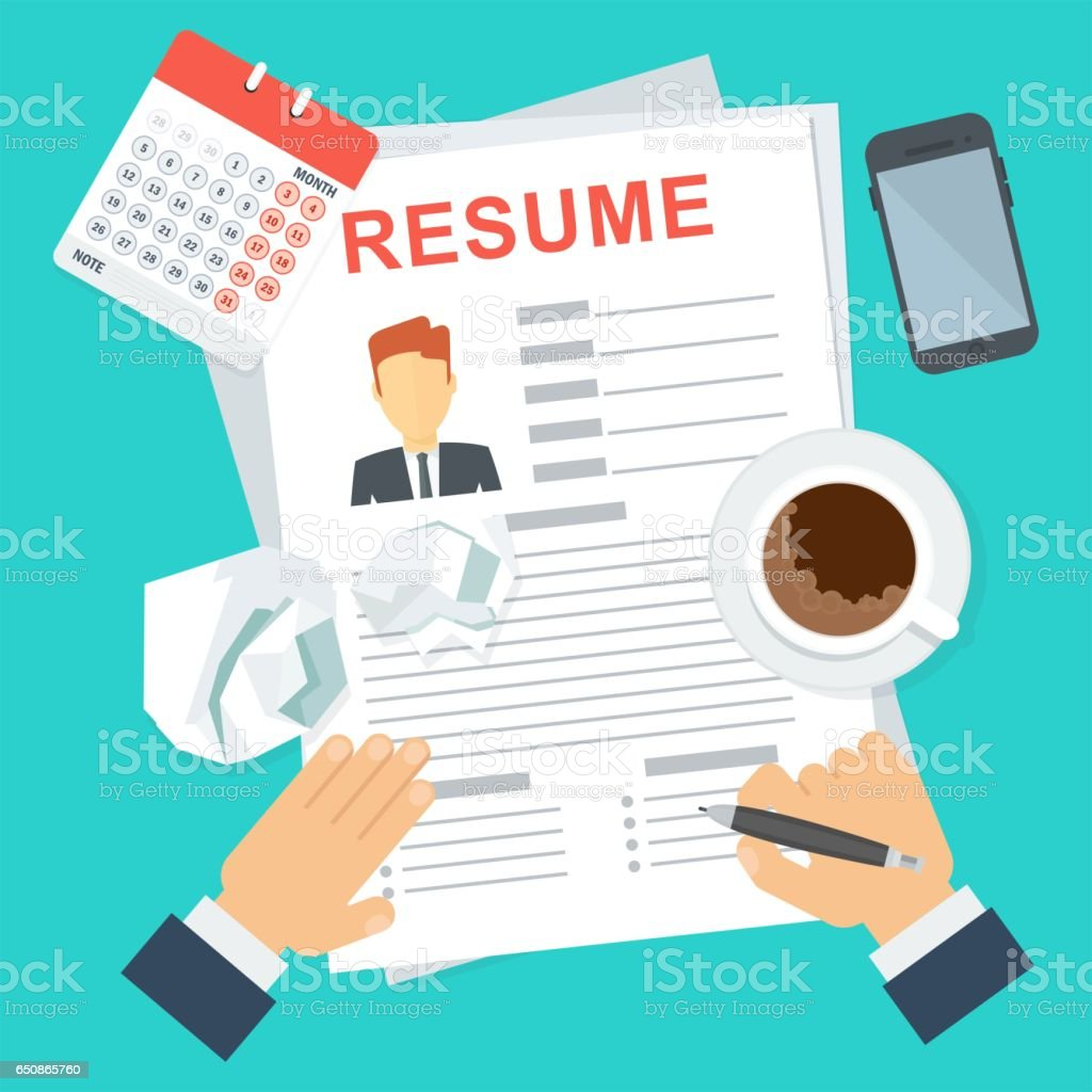 Image result for stock photo resume writing free