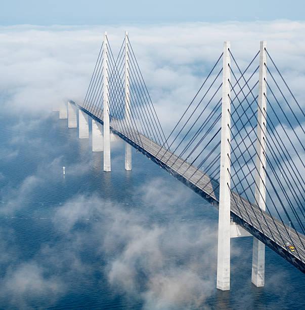 Ponte di Öresund - foto stock