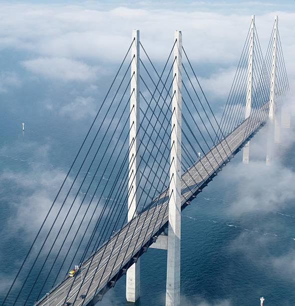 öresund bridge - öresund bildbanksfoton och bilder