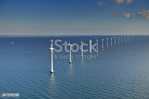 istock Øresund Offshore Windturbines 841378708