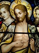 Easter Blessings - Celebrate the resurrection of Jesus Christ in stained glass style