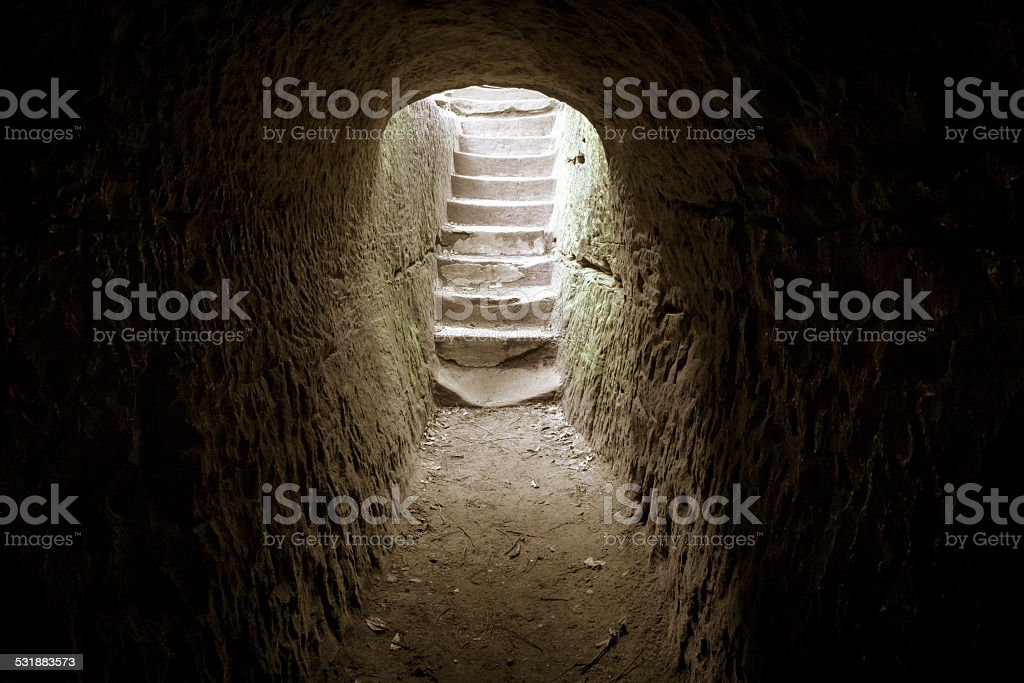 Resurrection From The Darkness stock photo
