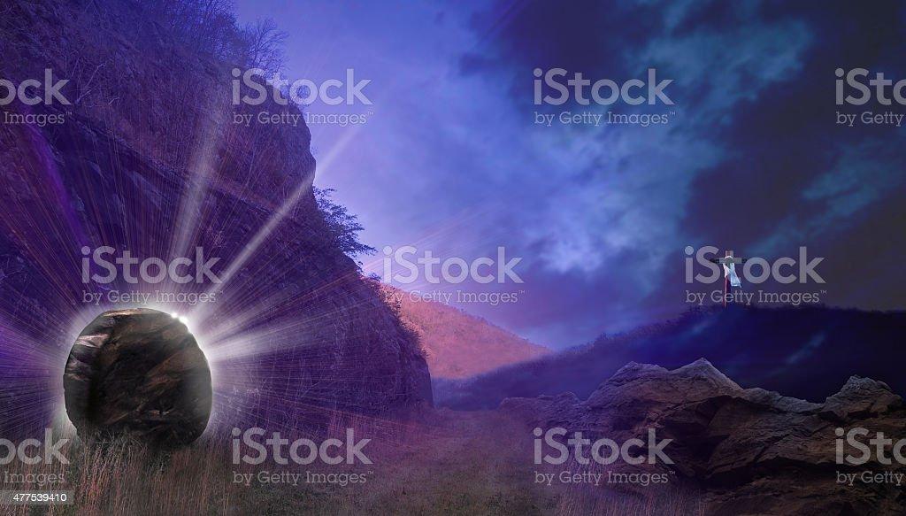 Resurrection Light stock photo