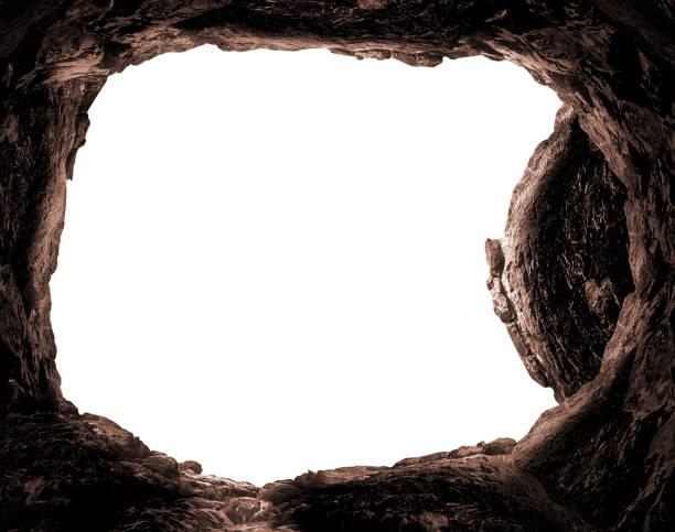 opstanding van jezus christus concept - graftombe stockfoto's en -beelden