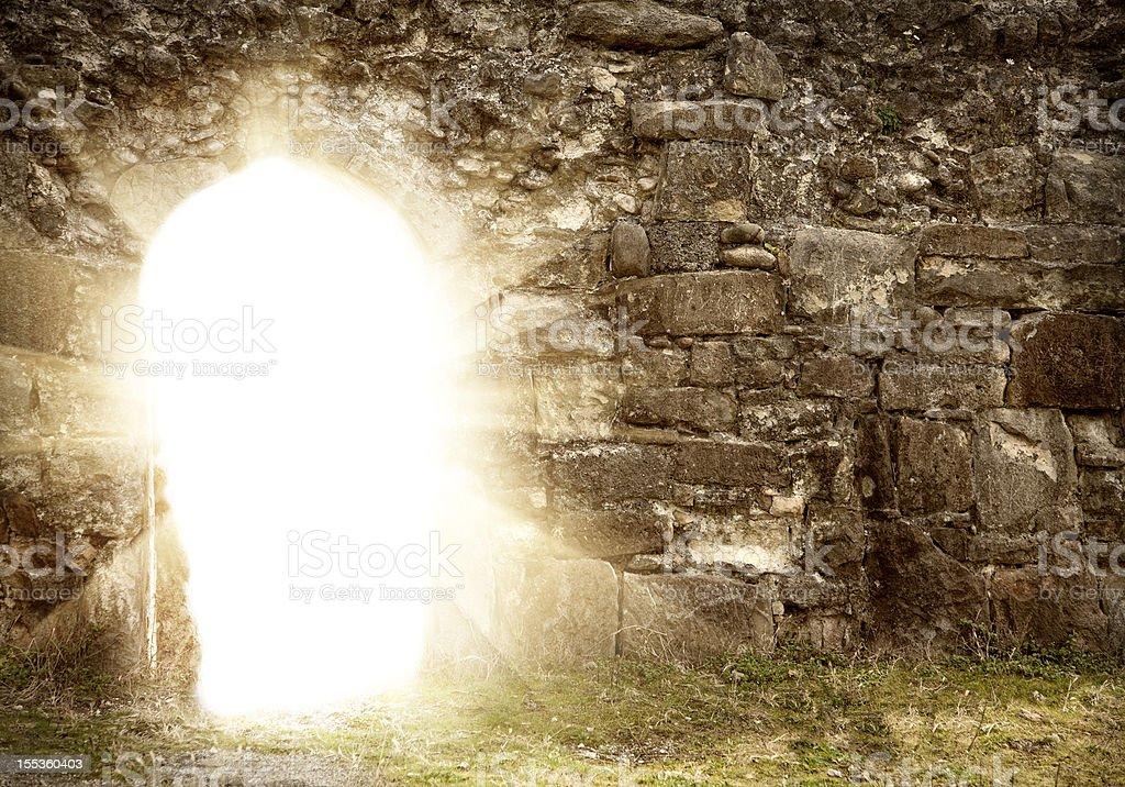 Resurrection stock photo