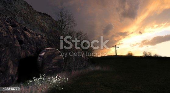 istock Resurrection Sunrise 495340779