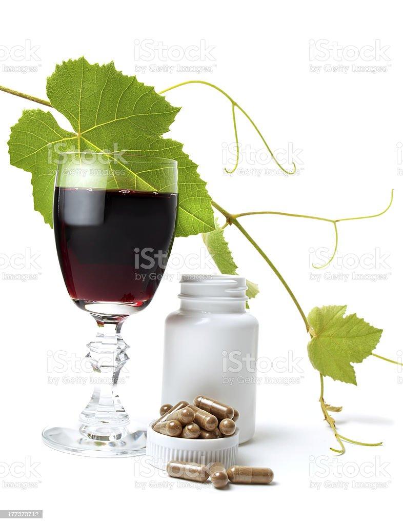 Resveratrol royalty-free stock photo