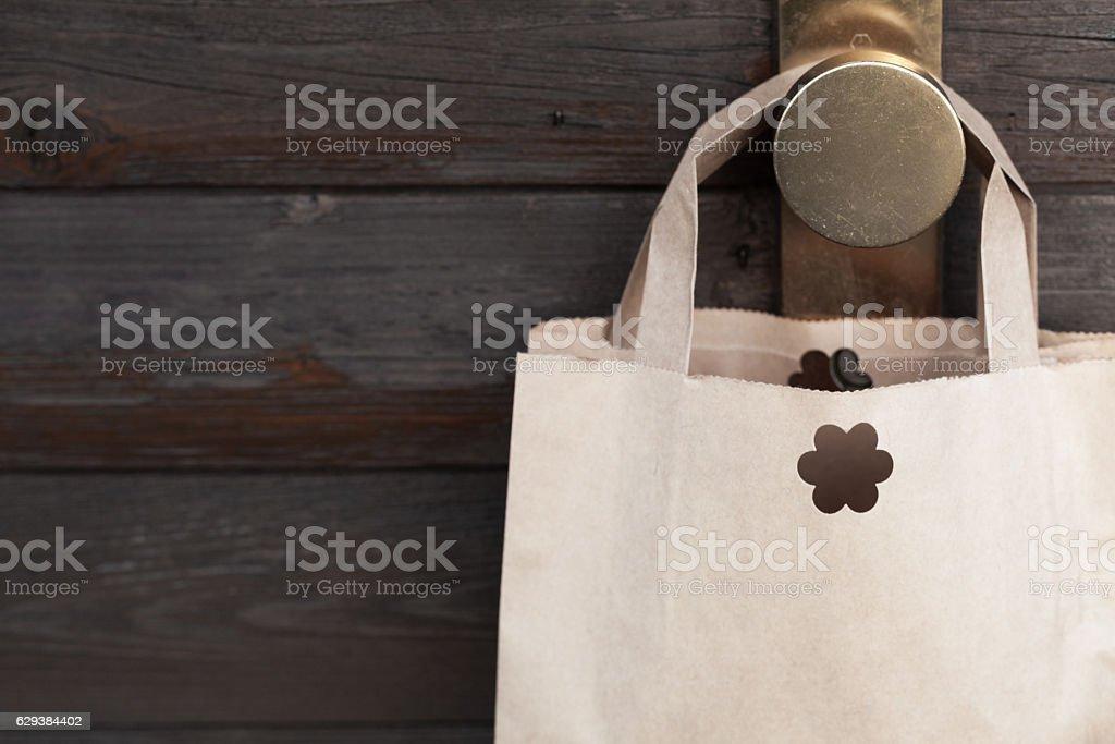 Retail background stock photo