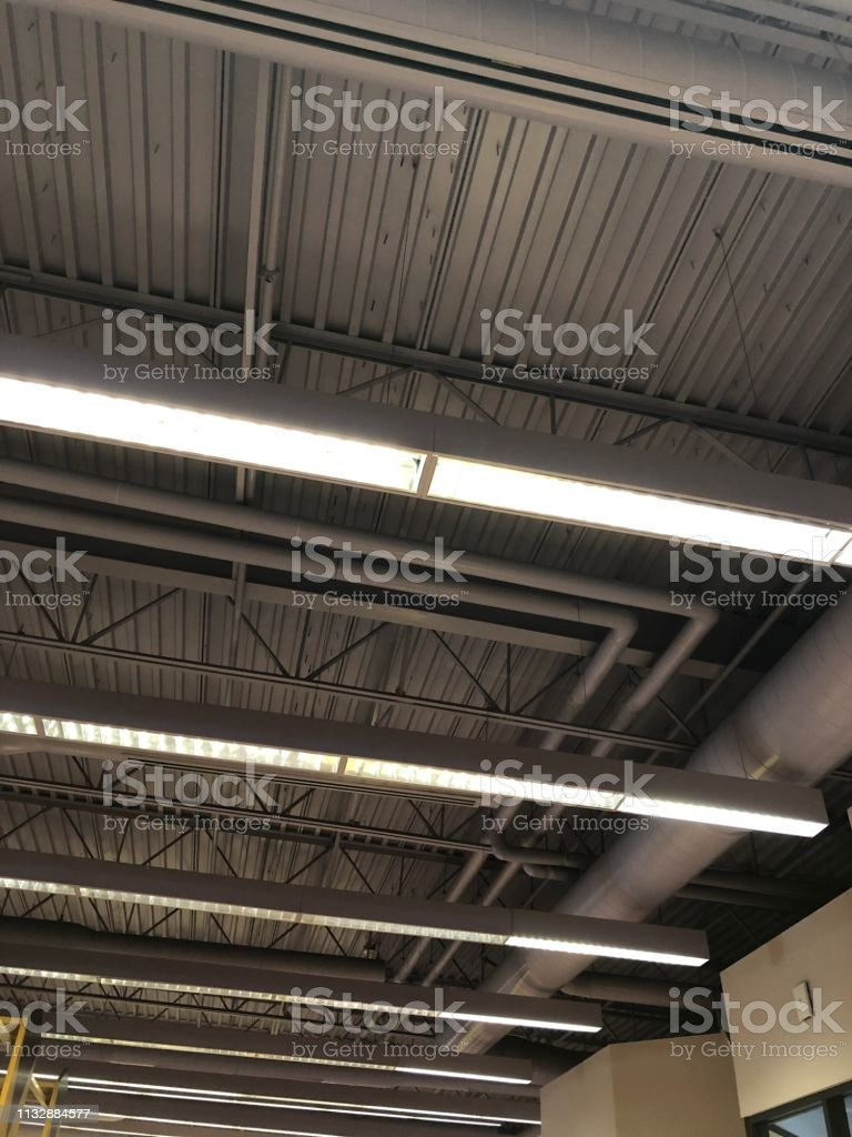 Retail building ceiling