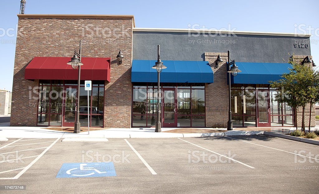 Retail (office building) stock photo