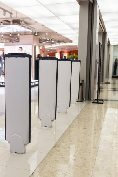 Einzelhandelsgeschäft elektronische Stordiebstahl-Gate-System mit Sensor schreckt Plünderung – Foto