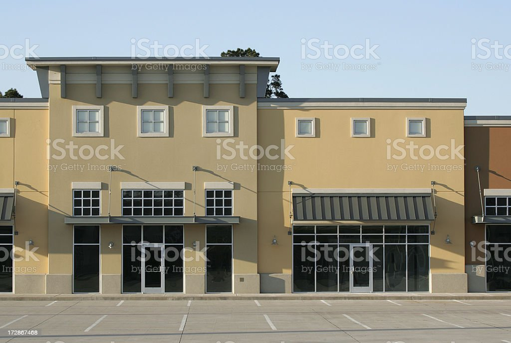 retail shops royalty-free stock photo