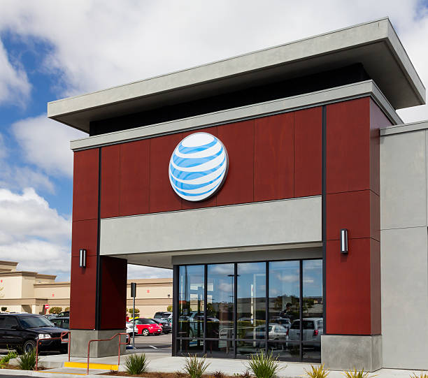 AT&T retail store stock photo