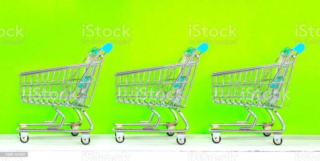 Retail store shopping concept stock photo
