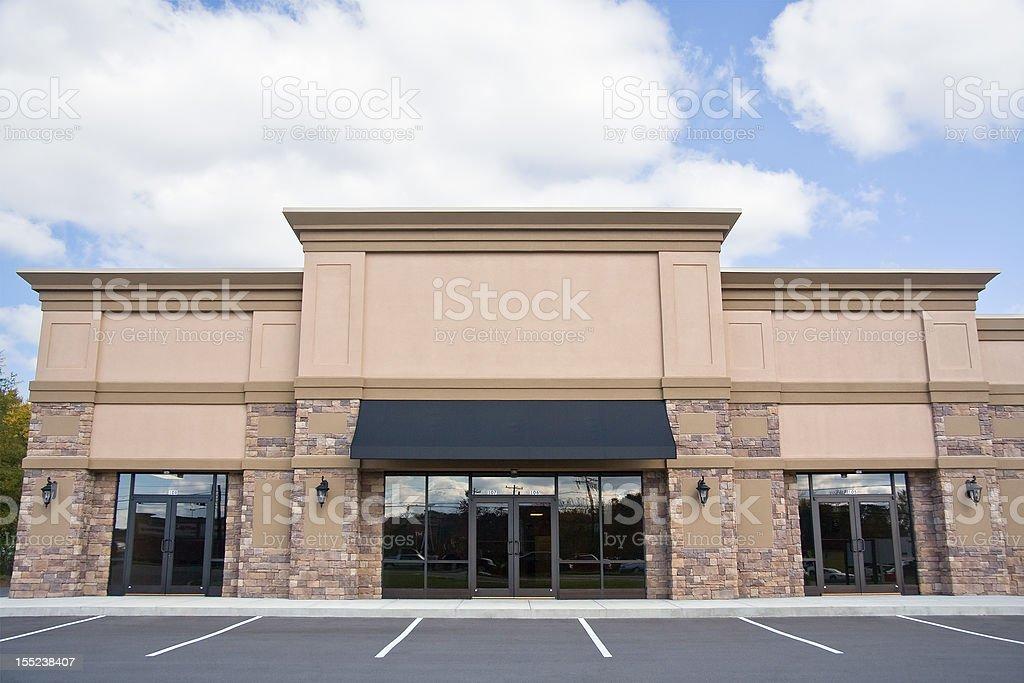Retail Storefront royalty-free stock photo