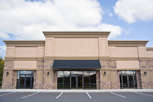 retail storefront - entrance stock photos and pictures