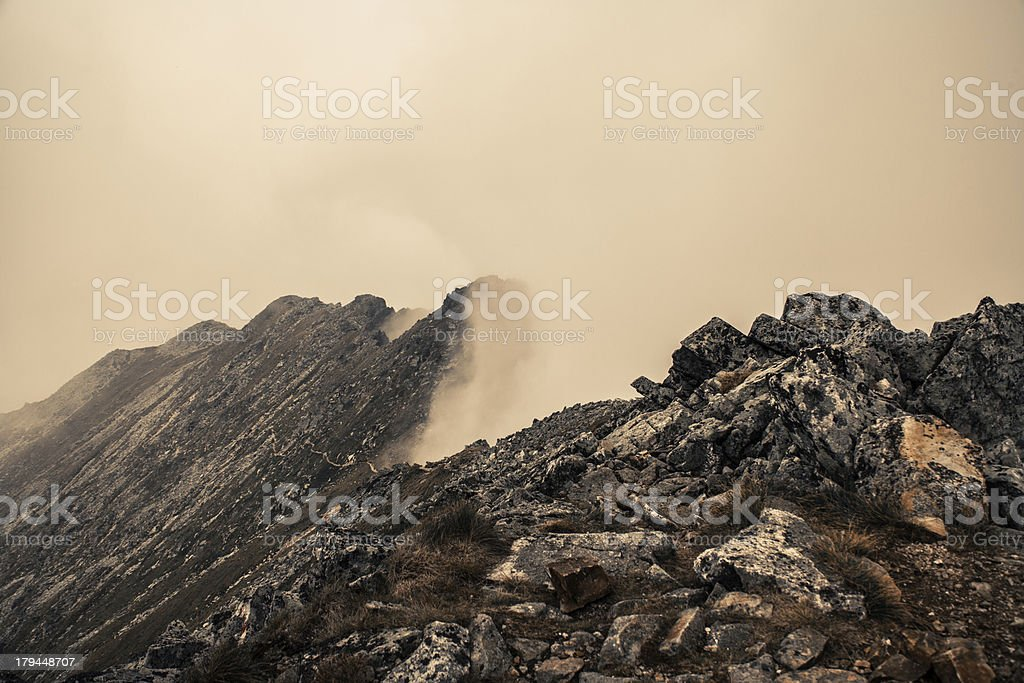 Retezat National Park stock photo