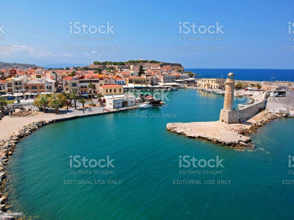 Rethymnon town, Crete stock photo