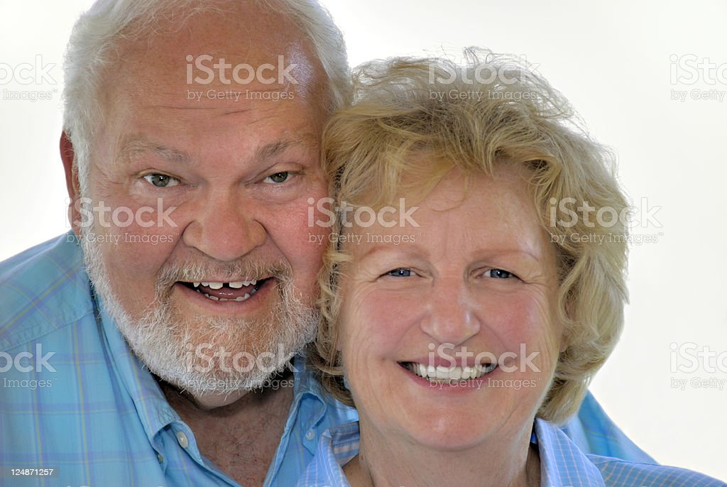 Retired adn Loving it! royalty-free stock photo