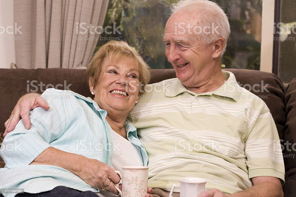 Retired Couple royalty-free stock photo