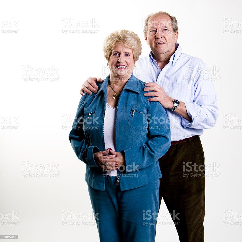 Pensione coppia foto stock royalty-free