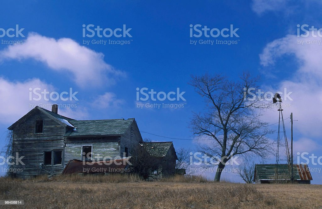 Pensione Farm foto stock royalty-free