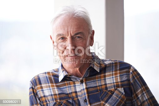 istock Retired from work but not from life 530980011