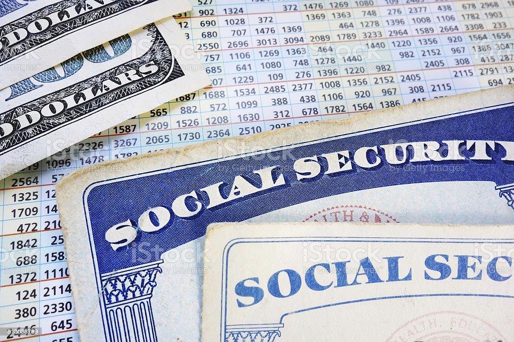 retirement benefits stock photo