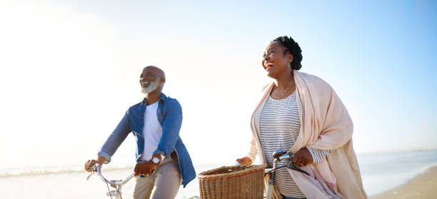 Retirement can only get better from here on stock photo
