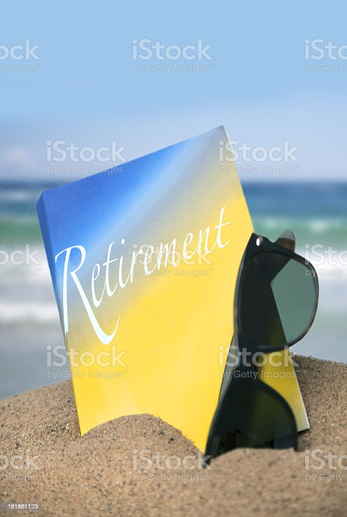 Retirement Concept royalty-free stock photo