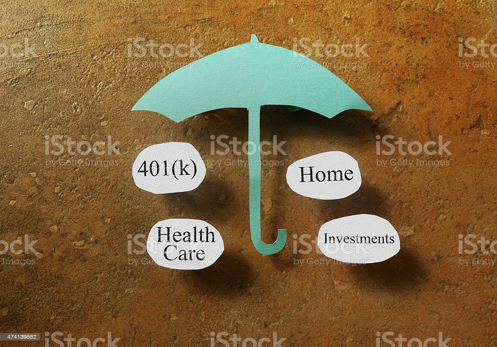 Retirement concept stock photo
