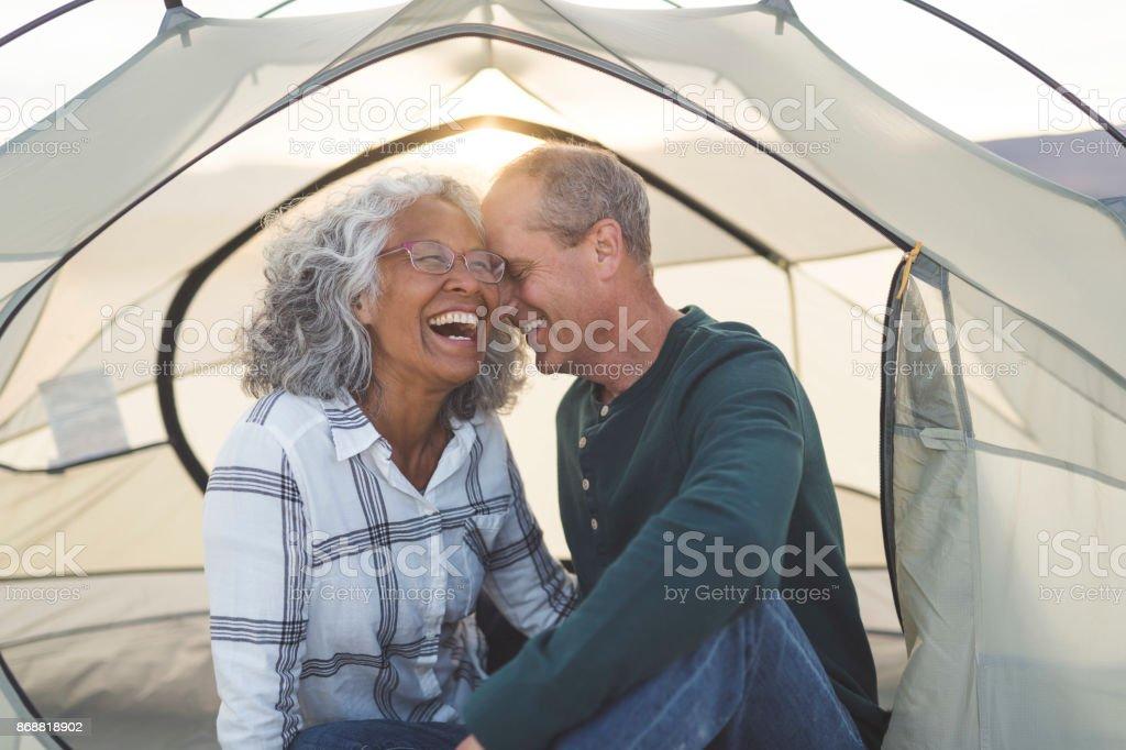 Jubilación no consigue mucho más dulce que esto - foto de stock