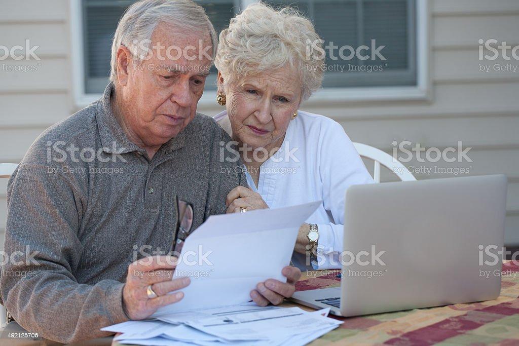 Retirement finance stock photo