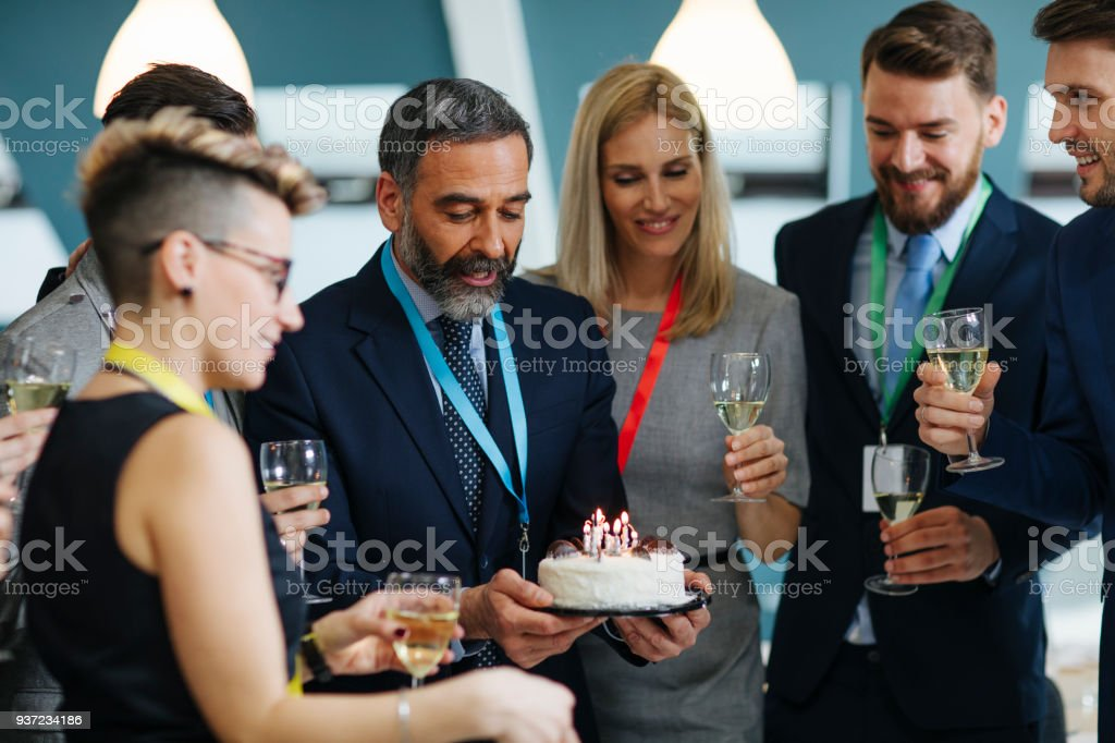 Retirement Party stock photo