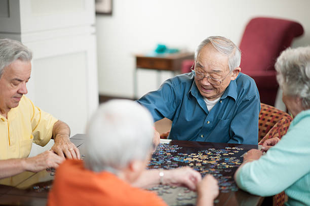 retirement - game of life stock photos and pictures