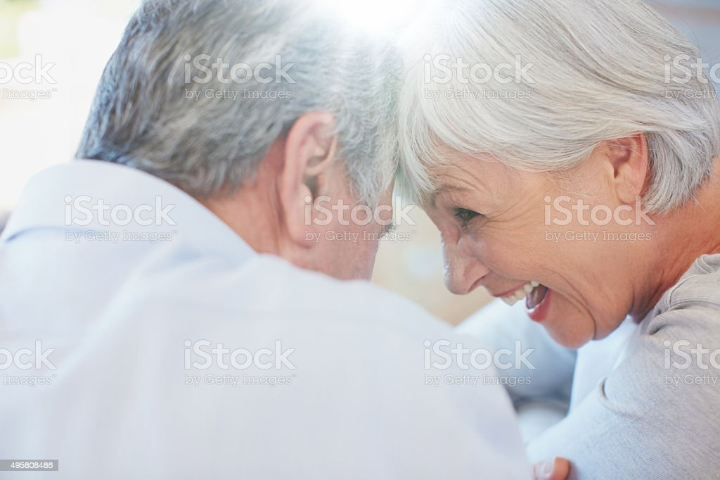 Retirement…more time for quality time stock photo