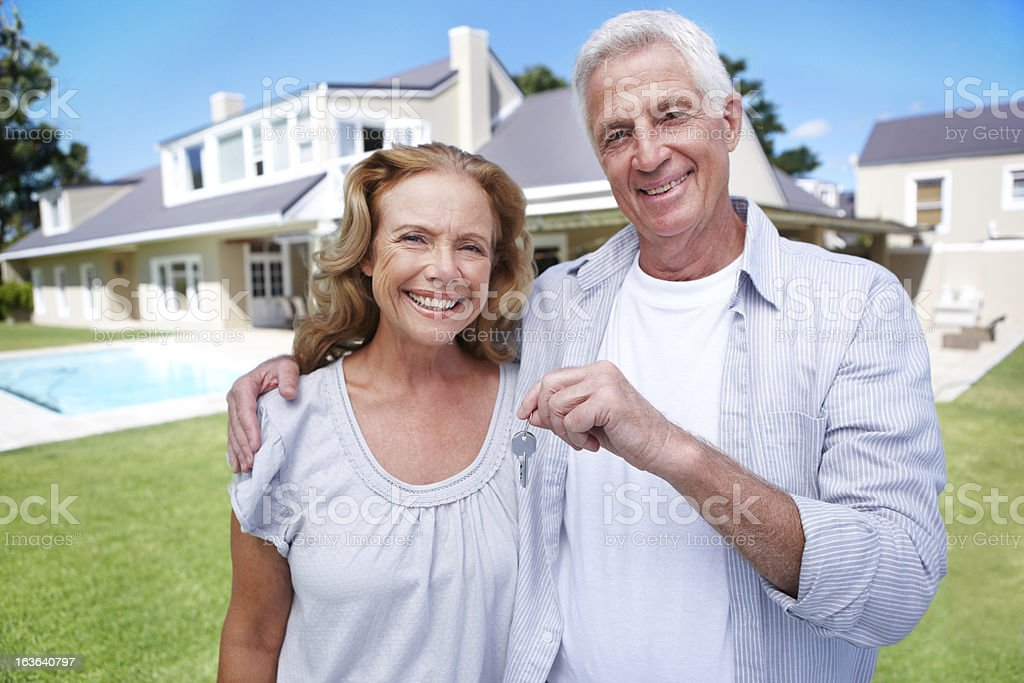 Retiring in style royalty-free stock photo