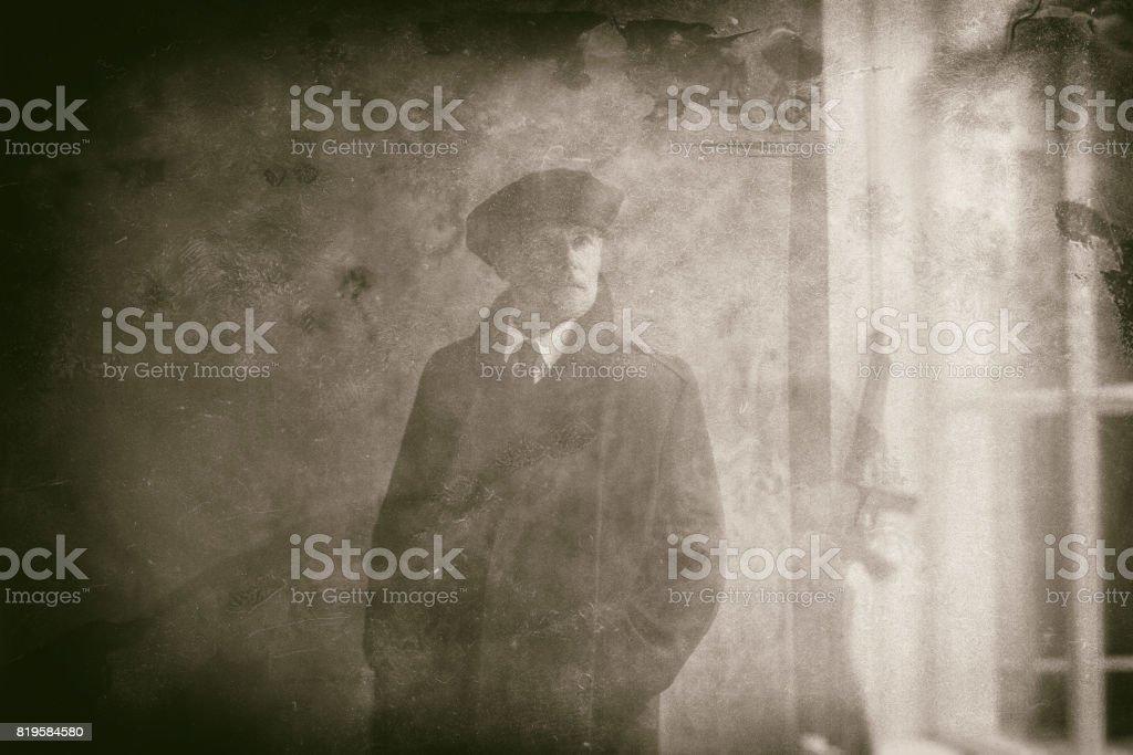 tiendas populares mejores telas oferta especial Década De 1920 Retro Gángster Inglés Vestido Con Capa Y ...