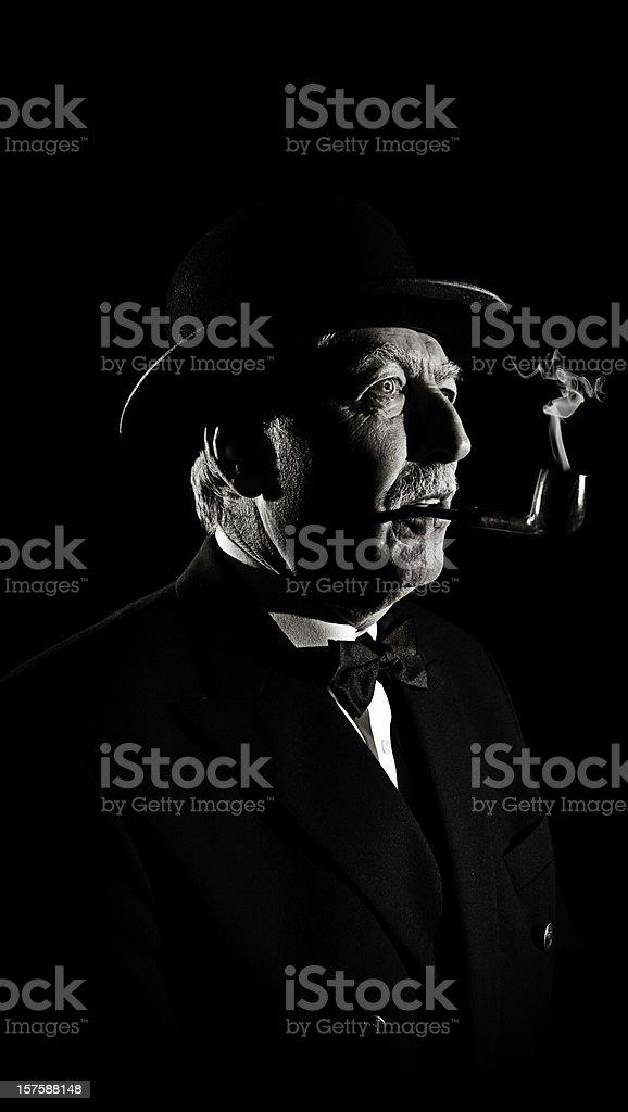 Retro Aged Man
