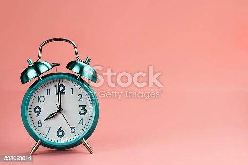 istock Retro Alarm Clock 538063014