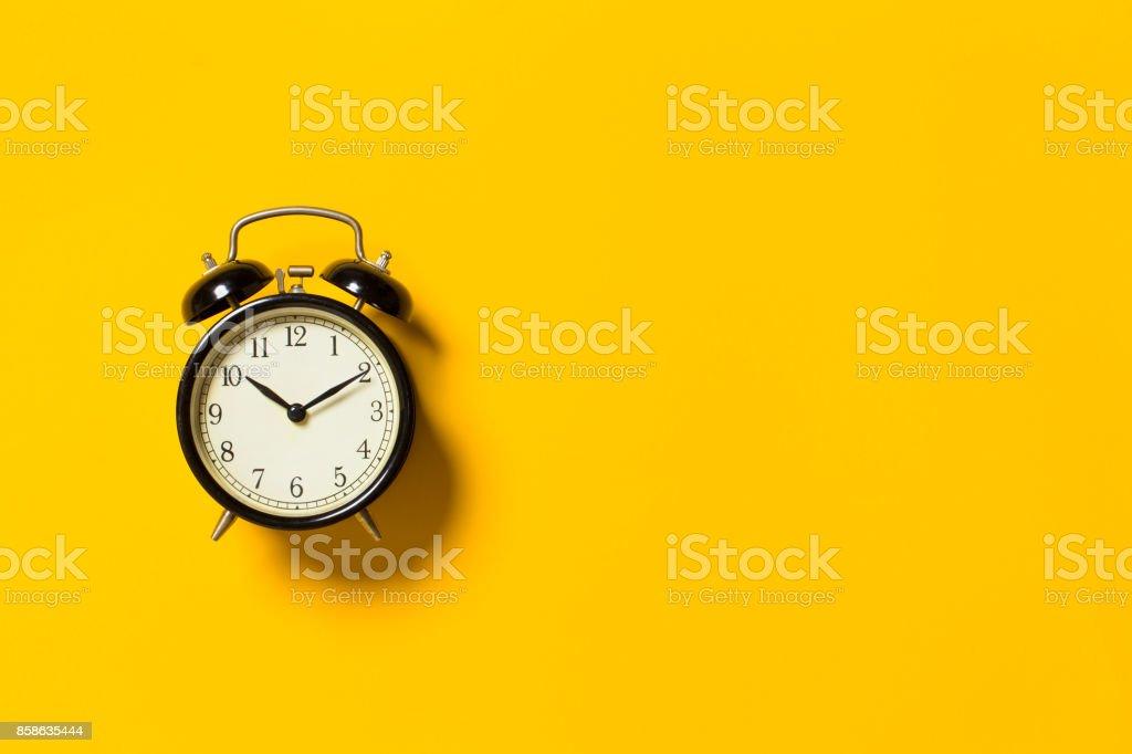 Retro reloj despertador foto de stock libre de derechos