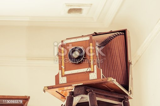 Retro and large camera