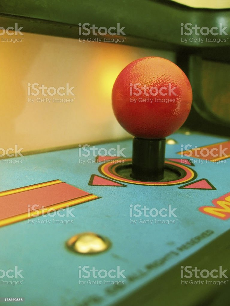 Retro Arcade royalty-free stock photo