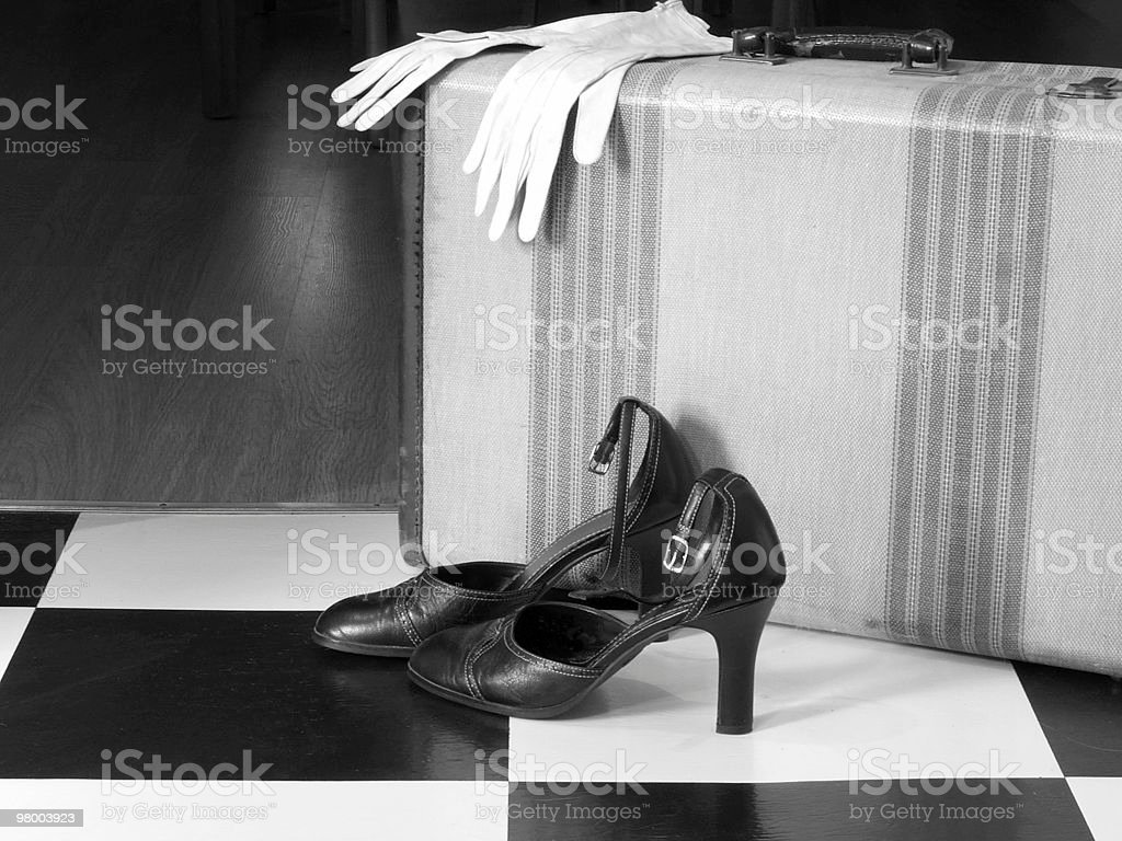 Retro Arrival royalty-free stock photo