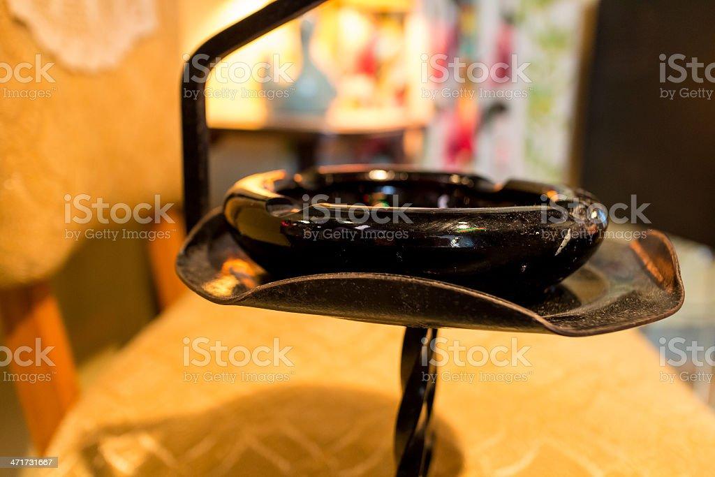 retro ashtray stock photo