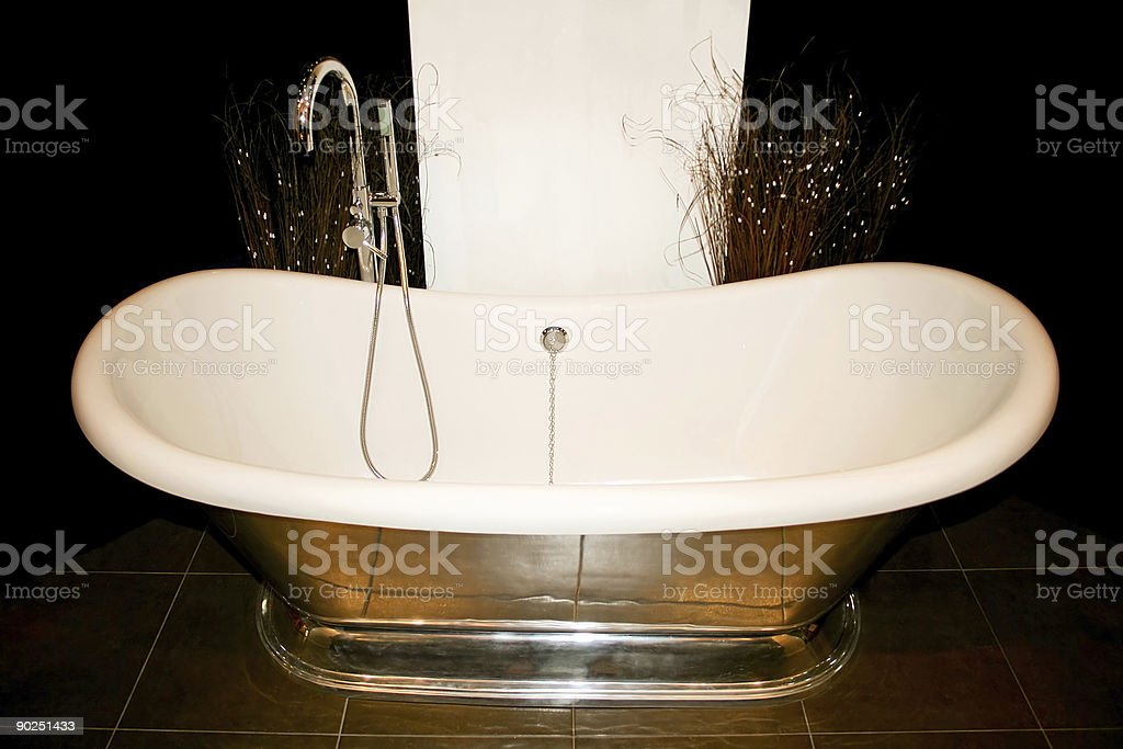 Retro bath royalty-free stock photo