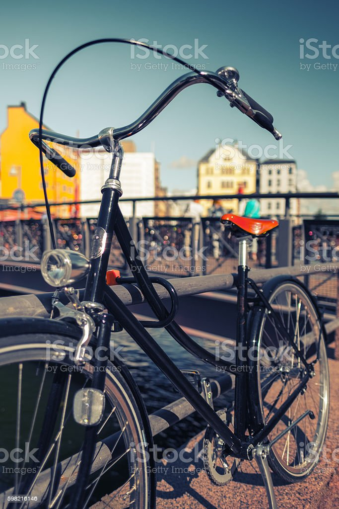 Retro de bicicleta foto royalty-free