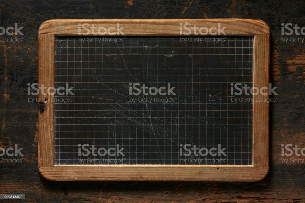 Tableau noir rétro - Photo
