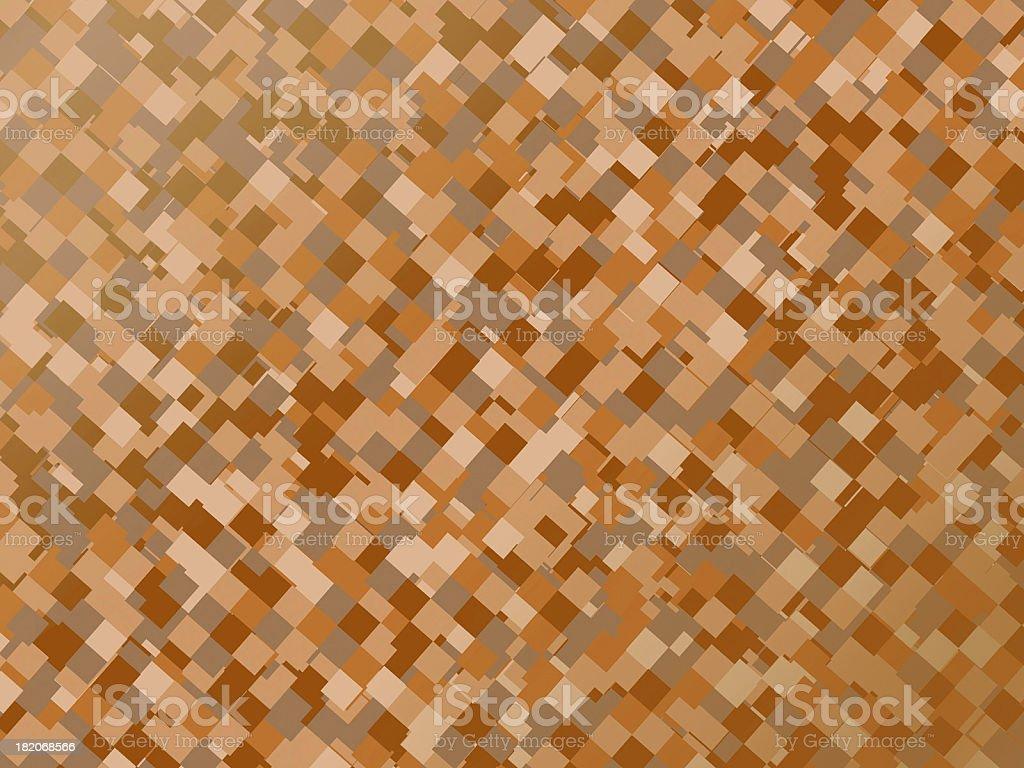 Retro Block - Brown royalty-free stock photo
